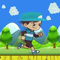 Super boy adventure -Running in the jungle