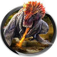 Dinosaur Hunter Jungle warriour attack 3D