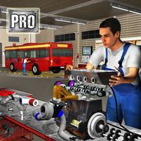 PRO Bus Mechanic Engine Overhaul: Auto Repair Shop