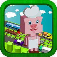 City Crossy Adventure For Pig Day