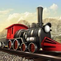 Train delivery driver simulator - free train games, fun physics games.