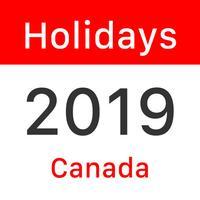 Canada Statutory Holidays 2019