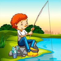 Fishing game for toddlers