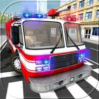 911 Rescue Fire Truck Simulator 3D