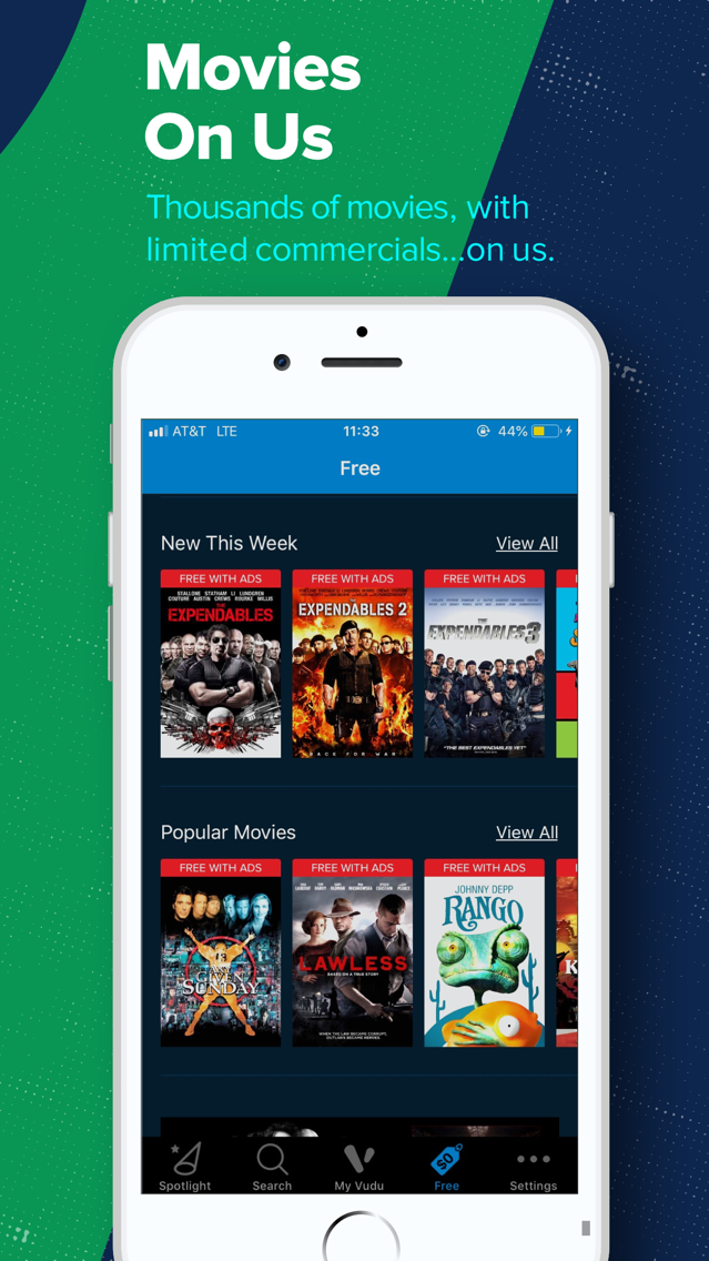Vudu - Movies & TV App for iPhone - Free Download Vudu