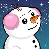 Snowman Runway Race