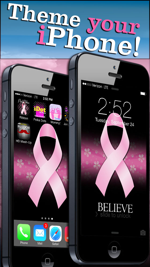 Pink Ribbon Breast Cancer Wallpaper Free Backgrounds