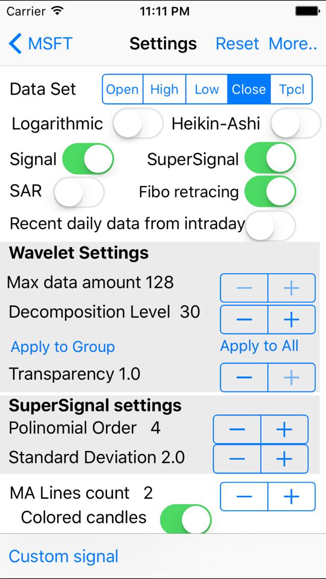 Wavelet Signal App for iPhone - Free Download Wavelet ...