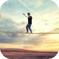 VR Tightrope Walking :Wire Walking for VRCardboard