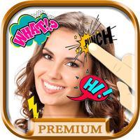 comic - photo stickers - Funny stickers - Premium