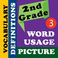 2nd Grade Academic Vocabulary # 3 for homeschool and classroom
