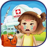 Sick Baby Care - A little doctor first aid salon & baby hospital care game