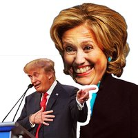 ElectMoji : Election & vote emoji sticker keyboard by Donald Trump, Hillary Clinton, Ted Cruz