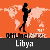 Libya Offline Map and Travel Trip Guide