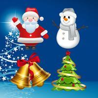 Christmas Gif Keyboard - Fully Animated Emoji for Christmas