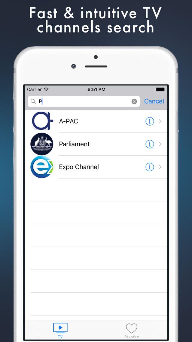 Australia TV - Australian television online App for iPhone - Free