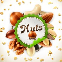 Nuts Stickers Pack