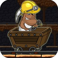 Gold Miner Jack Rush: Ride the Rail to Escape the Pitfall