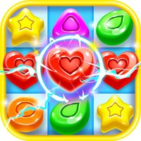 Sweet Gem Candies Land Match 3 Puzzle Adventure