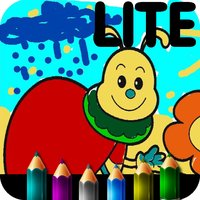 Coloring book for little girls. HD Lite