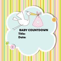 Baby Countdown app