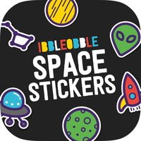 Ibbleobble Space Stickers for iMessage