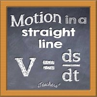 Motion in a Straight Line Math