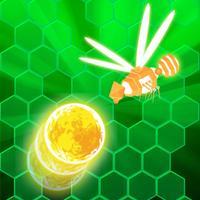 Bouncing Ball Attack Orange Killer Bee Hive Game