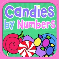Candy by Numbers - Color, Count, and Doodle Book
