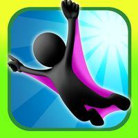 A Stickman Stunt Wingsuit Flying Challenge
