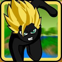 Stick-man Fight-ing Jungle Run-ner Safari