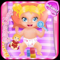 Baby Polly Diaper Change