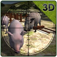 Farm Boar Hunter Simulator – Cattle guard & sniper shooting simulation game