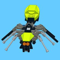 Spider for LEGO Creator 31018 x 2 Sets - Building Instructions