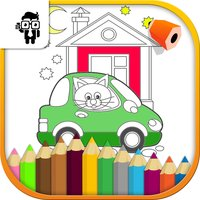 Car Kids Coloring Book