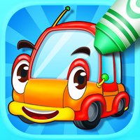 Kids Color Book: Cars - Educational Coloring & Painting Game Design for Kids and Toddler