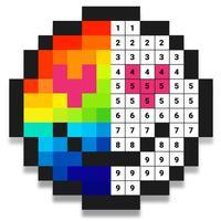 Sandbox Hero - Number Coloring