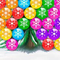 Christmas Puzzle - Burst bubbles