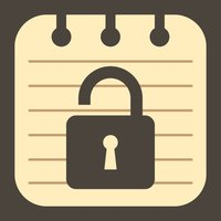 Simple My Notepad LOCK MEMO