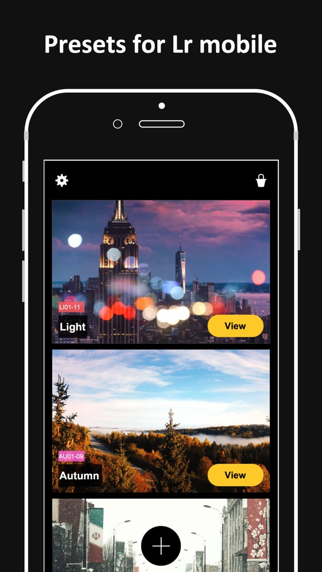 Presets for Lightroom - Koloro App for iPhone - Free