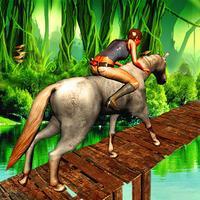Jungle Horse Run-Jungle Adventure