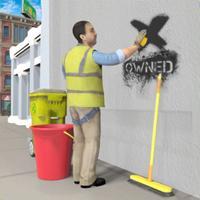 Janitor Life Sim: Clean Roads