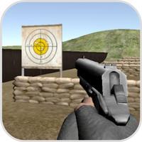 Gun Shooting Target Range