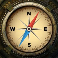 Vintage Compass 3D True North