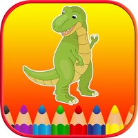 Dinosaur Coloring Book Free Pages for Toddler Kids