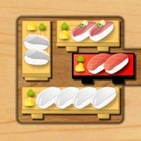Sushi Block Master:simple free arcade unblock puzzle game.You are to slide the blocks!Escape to the exit and let the sliding tuna sushi block.