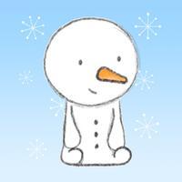 Little Snowman Stickers