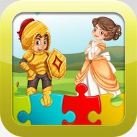 Princess Games for kids - Cute  Princesses Pony  Train Jigsaw Puzzles for Preschool and Toddlers