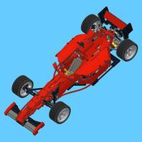 F2000 Racer for LEGO 8070 Set