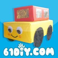 纸盒手工—儿童环保手工—61DIY巧巧手幼儿手工